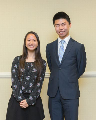 Photo Release -- Northrop Grumman Awards Engineering Scholarships to Two San Fernando Valley Area Students