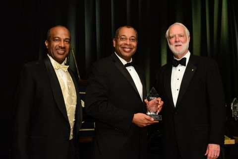 Photo Release -- Northrop Grumman's Chris Jones Inducted into Georgia Tech's 2015 Academy of Distinguished Engineering Alumni