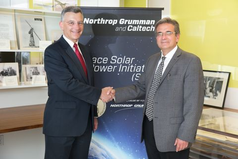 Photo Release -- Space Solar Power Initiative Established by Northrop Grumman and Caltech