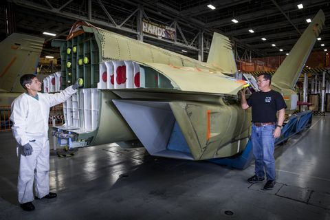 Photo Release -- Northrop Grumman Delivers Center/Aft 'Shipset' for First International EA-18G Growler