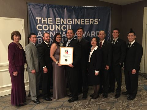 Photo Release -- Northrop Grumman Engineers Honored by The Engineers' Council