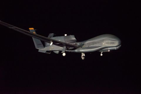 Photo Release -- US Air Force Global Hawk unmanned aircraft flies in to Australia's Avalon Air Show