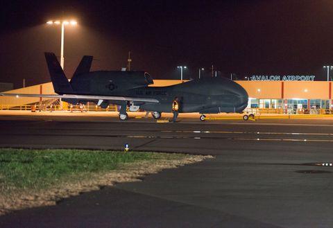 Global Hawk Arrival (b)