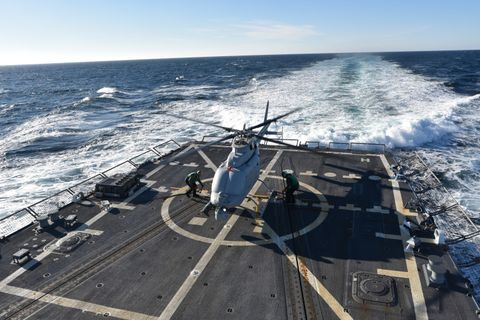 MQ-8C Fire Scout, USS Jason Dunham