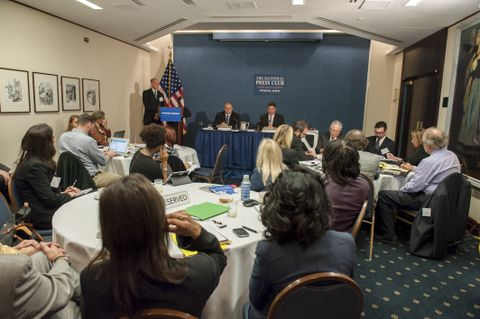 National Press Club, media briefing