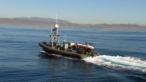 Mine Hunting Unmanned Surface Vehicle (MHU)