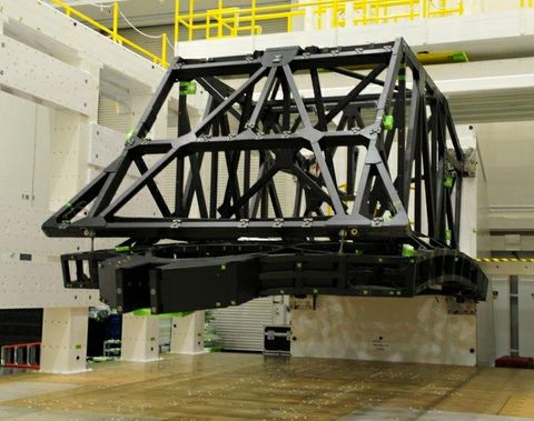 James Webb Space Telescope, backplane