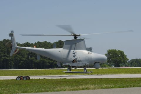 The MQ-8 Fire Scout