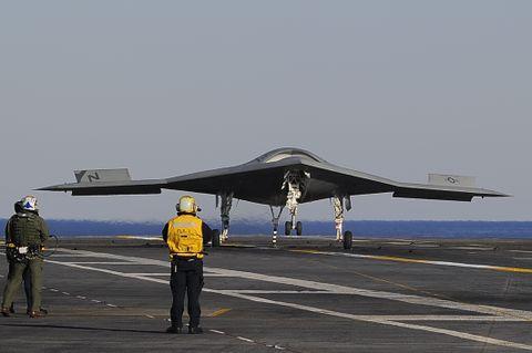 X-47B Landing