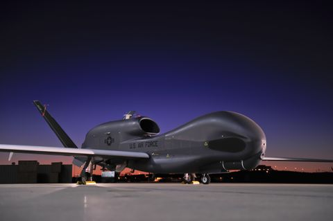Photo Release -- Northrop Grumman's Global Hawk Boasts Best Safety Record Designation