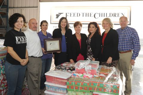 Feed The Children's Holiday Shoe Box Gift Project