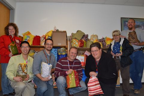 Photo Release -- Northrop Grumman's Salt Lake City Employees Brighten the Holidays for Service Members and Families in Need