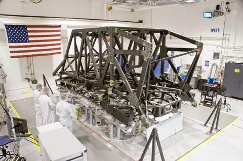 JWST Backplane Support Frame