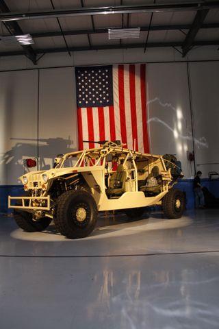 The Northrop Grumman Medium Assault Vehicle -- Light (MAV-L)