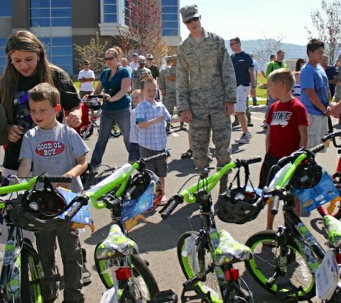 Hill Air Force Base Bicycles