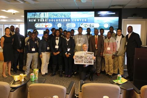 New York Solutions Center Students Visit