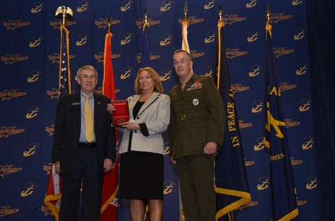2012 Navy League Chester Nimitz Award