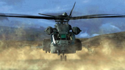 CH-53K Super Stallion helicopter