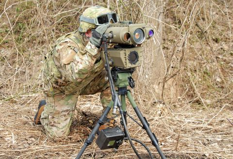LLDR Electro-Optic Laser System