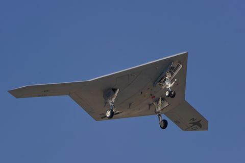X-47B Demonstrator (a)