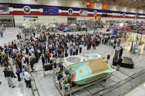 50th F-35 Center Fuselage