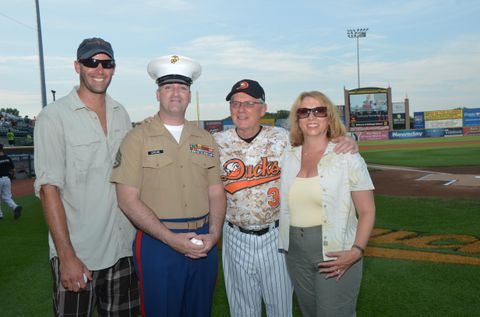 Long Island Ducks Military Appreciation Night