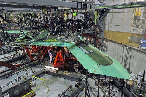 X-47B UCAS Air Vehicle 2 Proof Testing