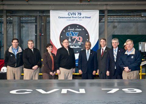 CVN 79 Ceremony (b)