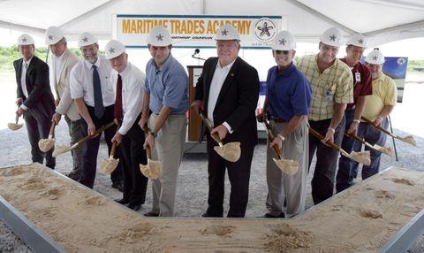 Maritime Trades Academy Groundbreaking