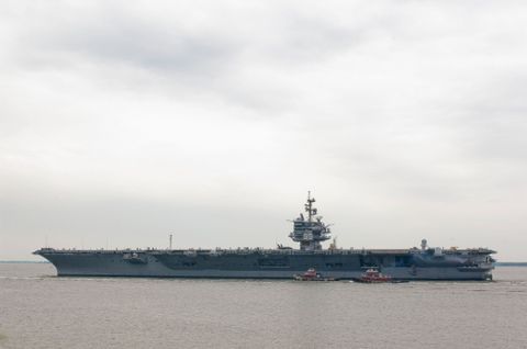 USS Enterprise (CVN 65) Redelivery