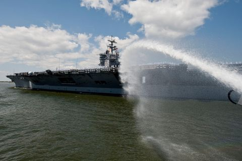 USS Enterprise (CVN 65) Redelivery (b)