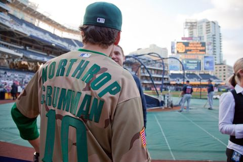 Sponsors Military Night At Petco Park