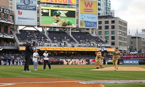 Padres Military Opening Night