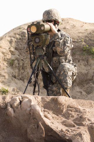 Lightweight Laser Designator Rangefinder