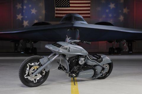 B-2 Stealth Bike