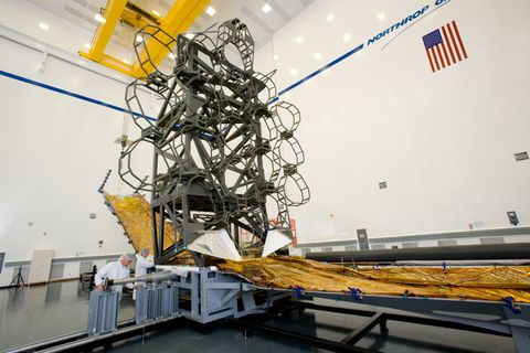 Webb Telescope Simulator (a)