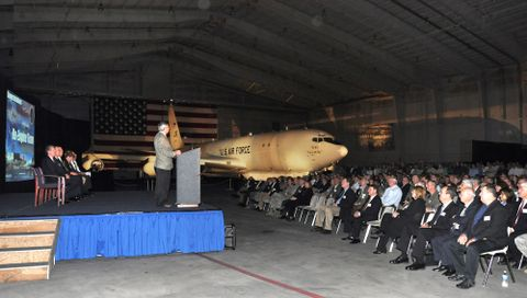 Unveiling of the U.S. Air Force's E-8C