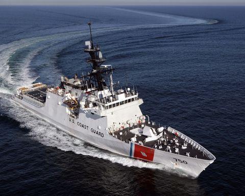 USCGC Bertholf underway
