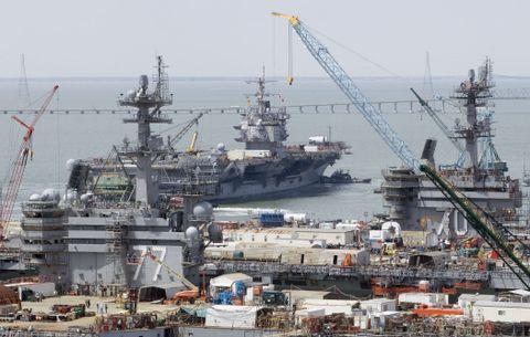 USS Enterprise Maintenance Contract
