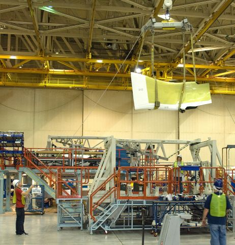 Center Fuselage for F-35A Lightning II