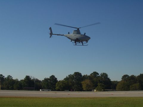 Fire Scout at Fort Rucker