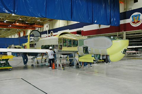 Global Hawk RQ-4B Wing Assembly