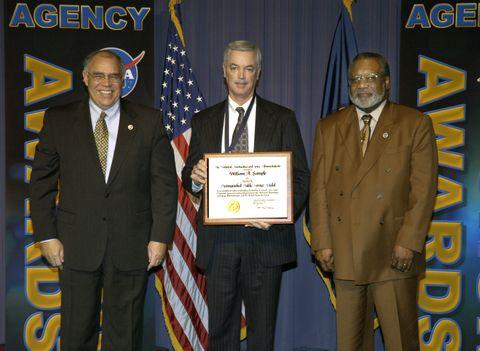 William Sample NASA Award