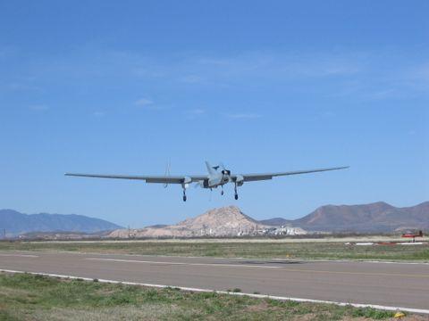E-Hunter Landing