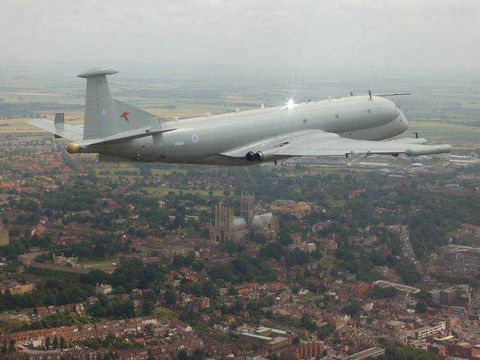 Photo Release -- Northrop Grumman Names Teammates for U.K.'s Nimrod R1 Electronic Reconnaissance Mission Upgrade Study Contract