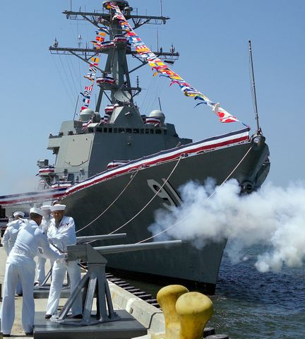 DDG91 Commissioned