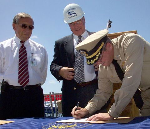 Photo Release -- Northrop Grumman Delivers 20th Aegis Destroyer