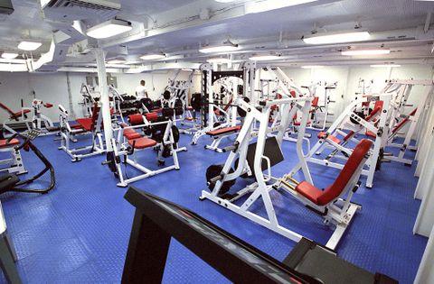 Fitness Center for Sailors