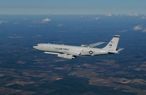 Photo Release -- Northrop Grumman Delivers 16th Joint STARS Aircraft to the U.S. Air Force