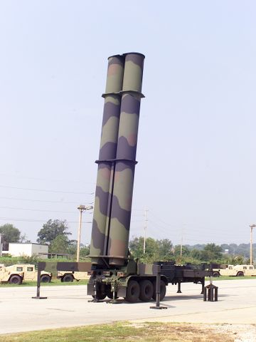 The Two-Cannister KEI Mobile Launcher